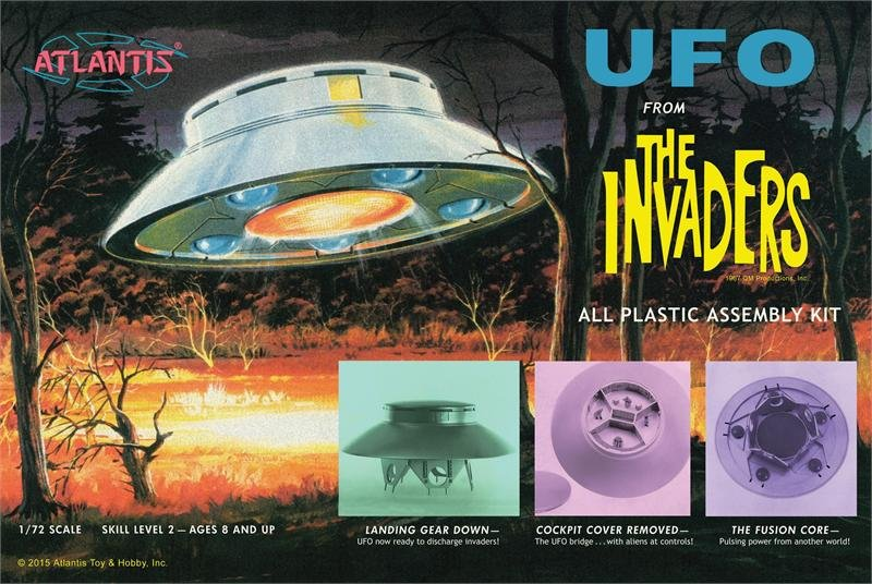 Atlantis The Invaders UFO kit