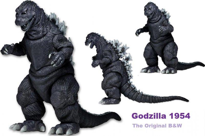 1954 NECA Godzilla Figure
