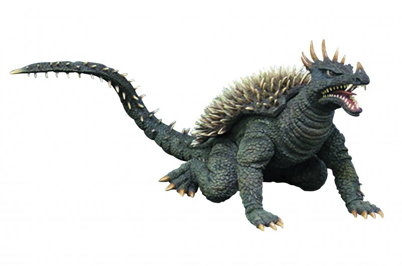 X-Plus Garage Toy Anguirus 68