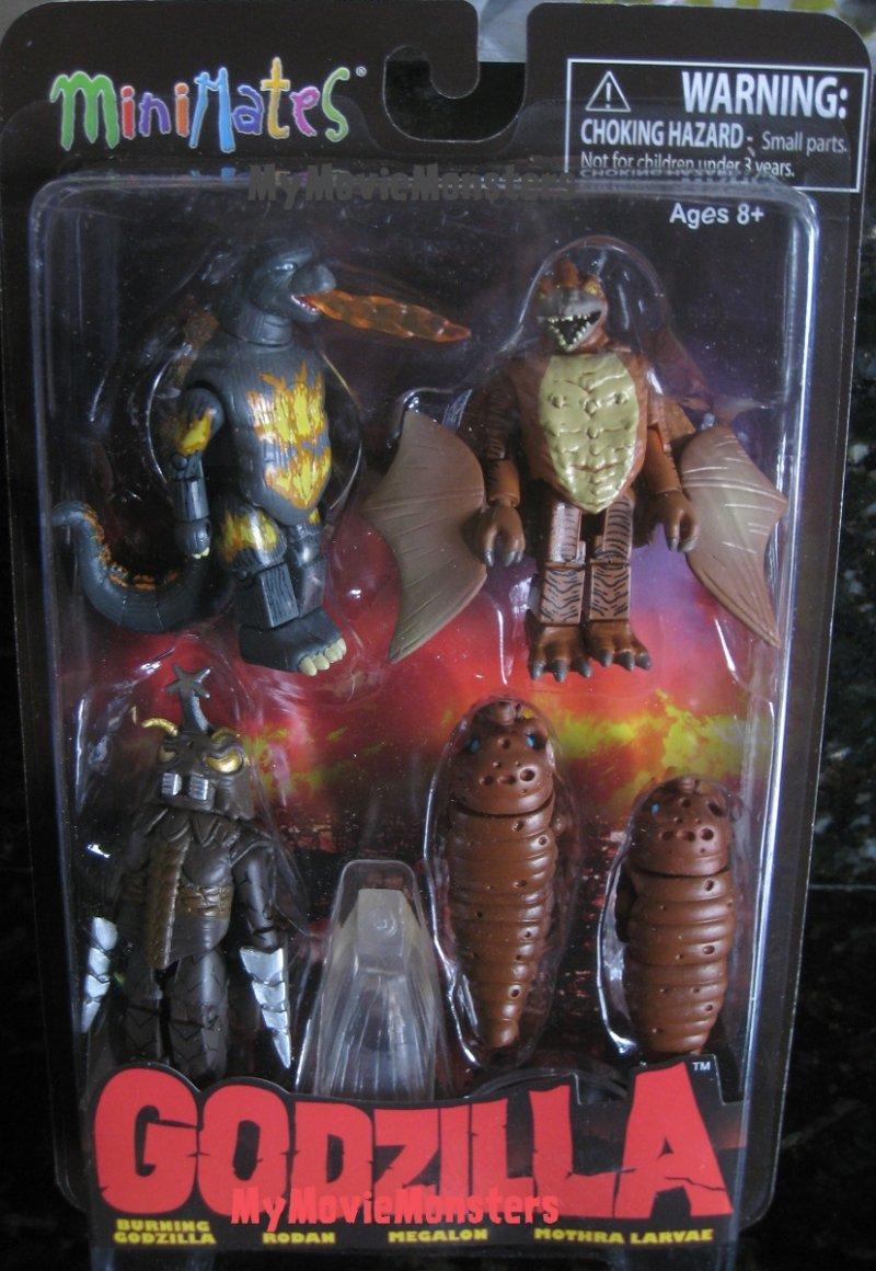 Godzilla Minimates Series 3