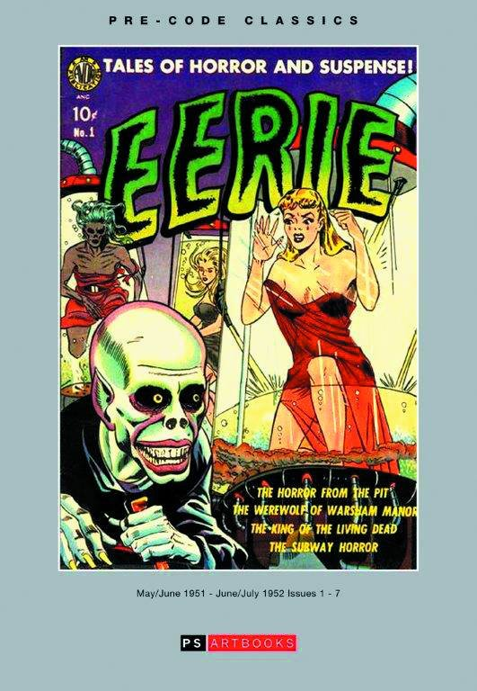 Avon EERIE Vol 1 Issues #1-7