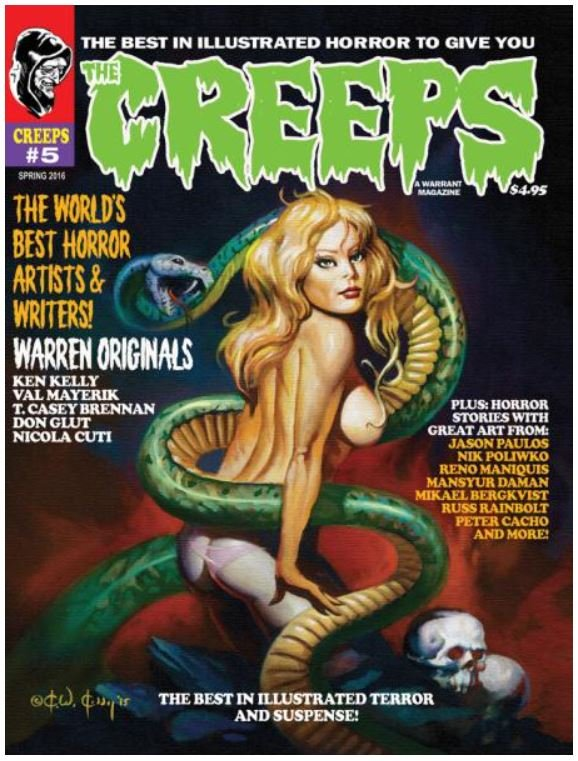 The Creeps #5 contents