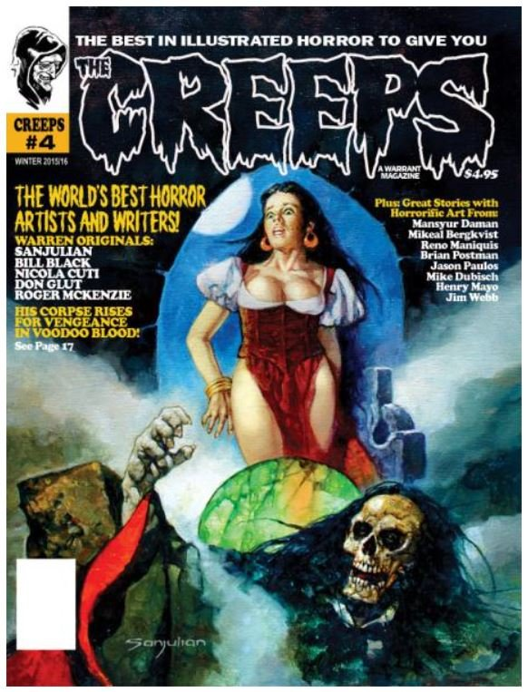 The Creeps #4 contents