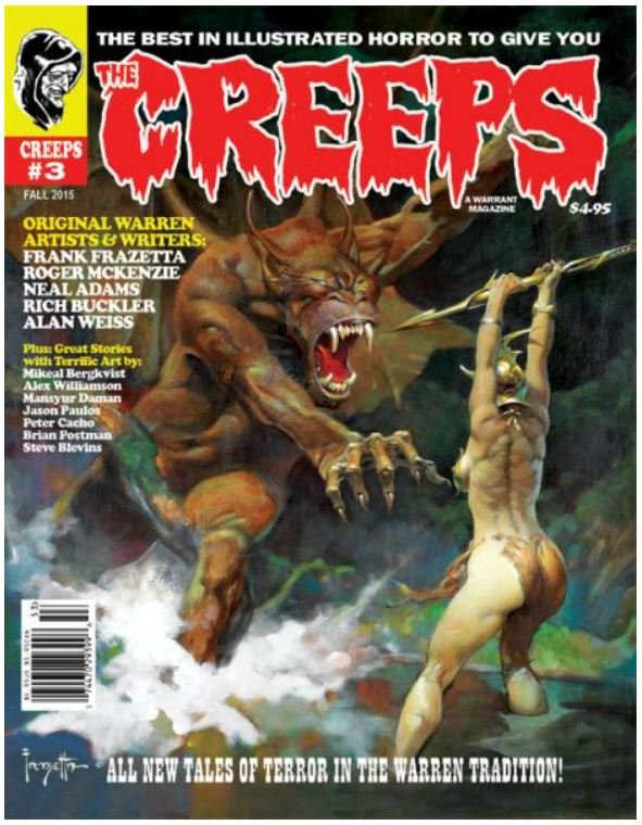 The Creeps #3 contents