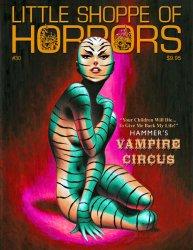 Thumbnail of Little Shoppe of Horrors magazine #30 May 2013 - Hammer's Vampire Circus