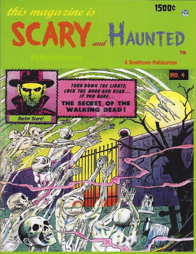 SCARY and Haunted #4
