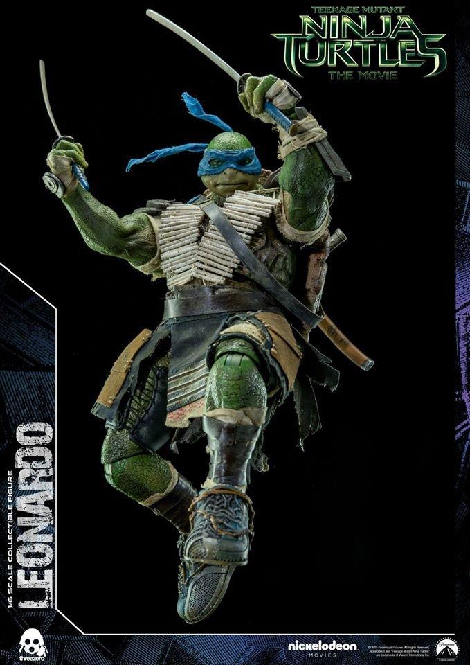 3a Threezero Teenage Mutant Ninja Turtles Tmnt Leonardo 12