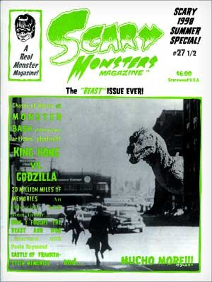 Scary Monsters #27 1/2