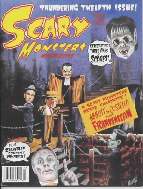 Scary Monsters #12