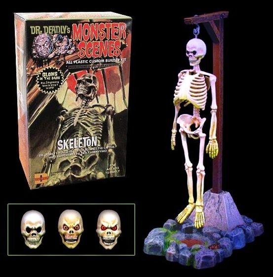 Monster Scenes Skeleton