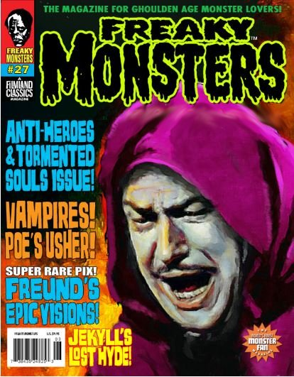 Thumbnail of FREAKY Monsters magazine #27 - Vincent Price
