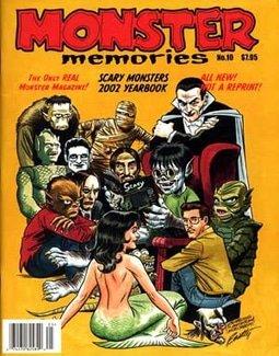 Monster Memories Yearbook 2002