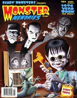 Monster Memories Yearbook 1995