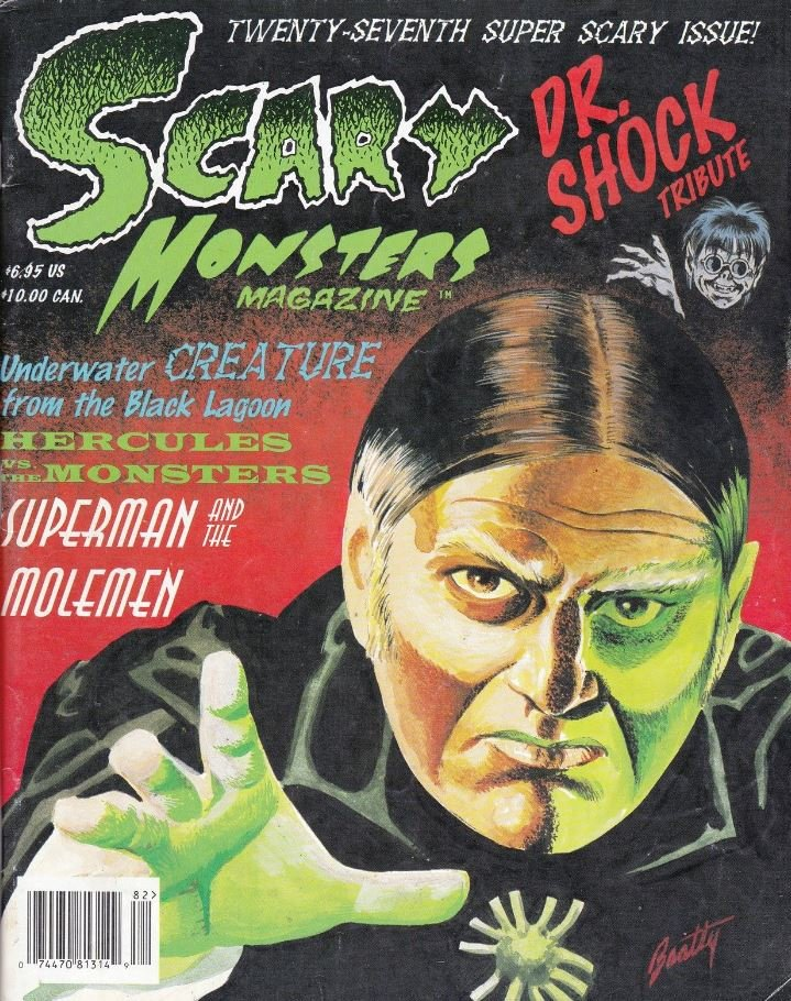 Scary Monsters #27