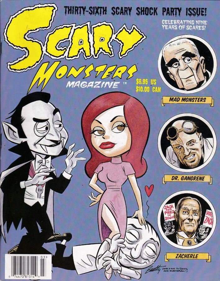 Scary Monsters #36