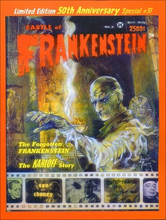 Castle of Frankenstein #3 repr