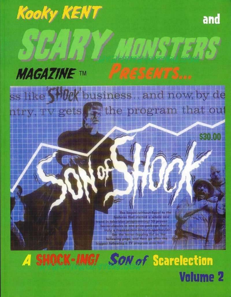 Son of Shock Volume 2 magazine