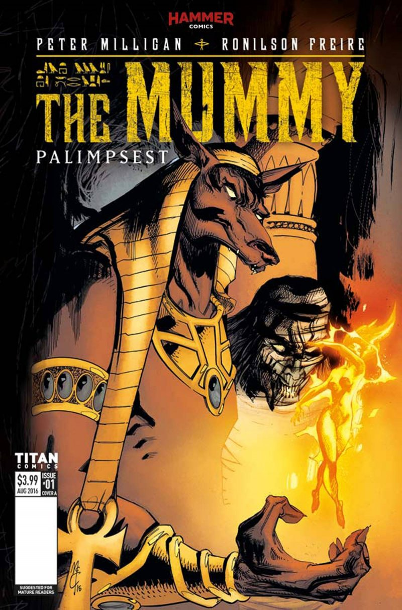 Hammer/Titan The Mummy #1
