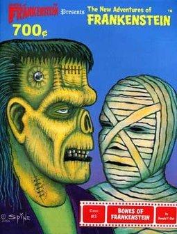 #3 Bones of Frankenstein