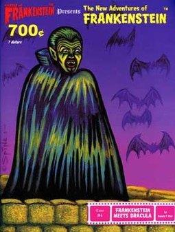 #4 Frankenstein Meets Dracula