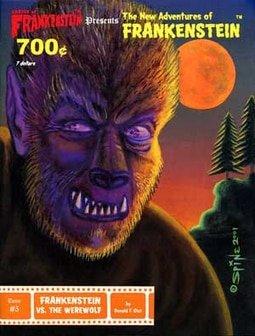 #5 Frankenstein vs. Werewolf