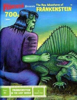 #6 Frankenstein in Lost World