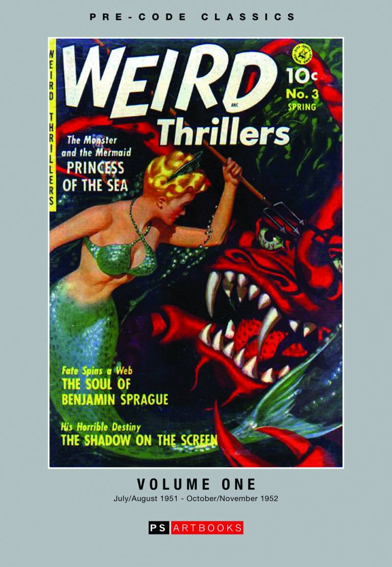 Weird Thrillers &Adventures V1