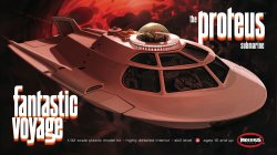 Thumbnail of Moebius Proteus Submarine Fantastic Voyage 1/32 scale model kit - JUST IN!
