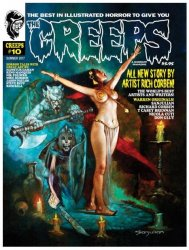 Thumbnail of The Creeps comic magazine #10 Summer 2017 - New Richard Corben