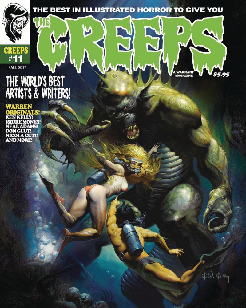 The Creeps #11 contents