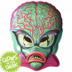 Thumbnail of Ghoulsville Alien Master Vac-tastic Plastic Retro Wall Decor Glows - JUST IN!