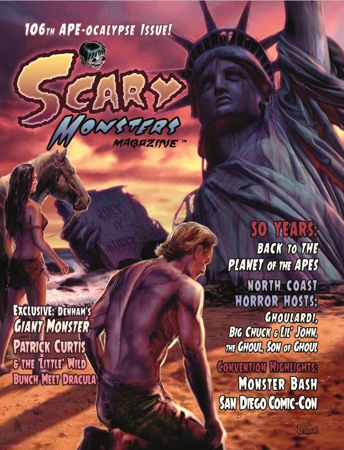 Thumbnail of Scary Monsters magazine _#106 -APE-ocalypse Issue - LATEST - Reg or Spec Ed!