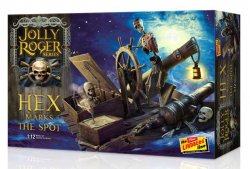 Thumbnail of Round 2 Lindberg Jolly Roger Series: Hex Marks the Spot 1:12 model kit  JUST IN!