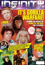 Thumbnail of INFINITY #5 - It's Gorilla Warfare! Planet of the Apes TV Series - from the UK