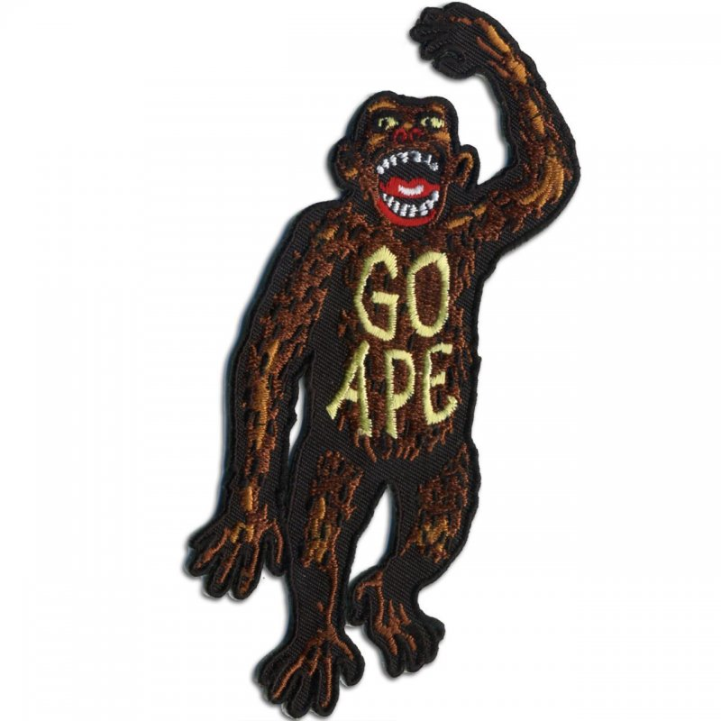 Go Ape! Embroidered Patch