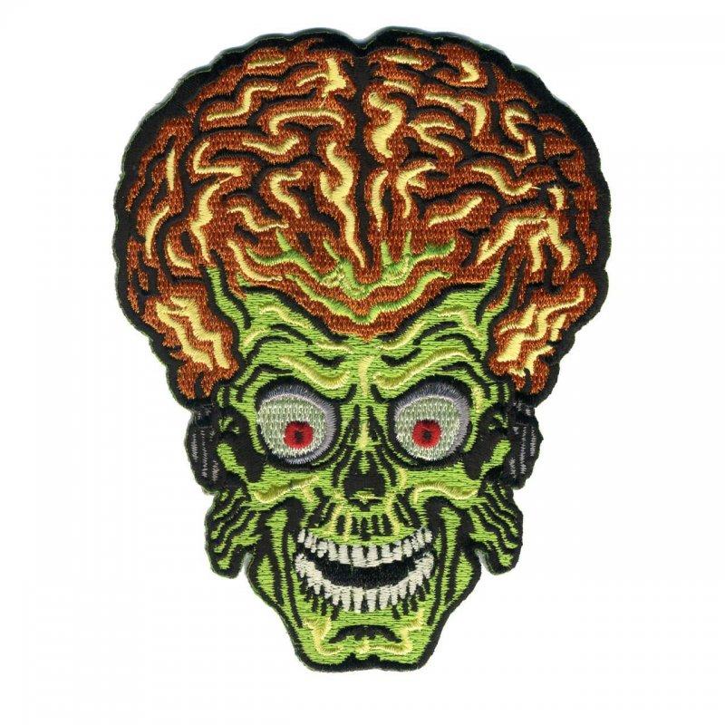 Mars Attacks Alien Head Patch