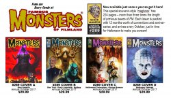 Thumbnail of Famous Monsters of Filmland magazine FM #289 - MAGBOOK Choice of 4 covers!