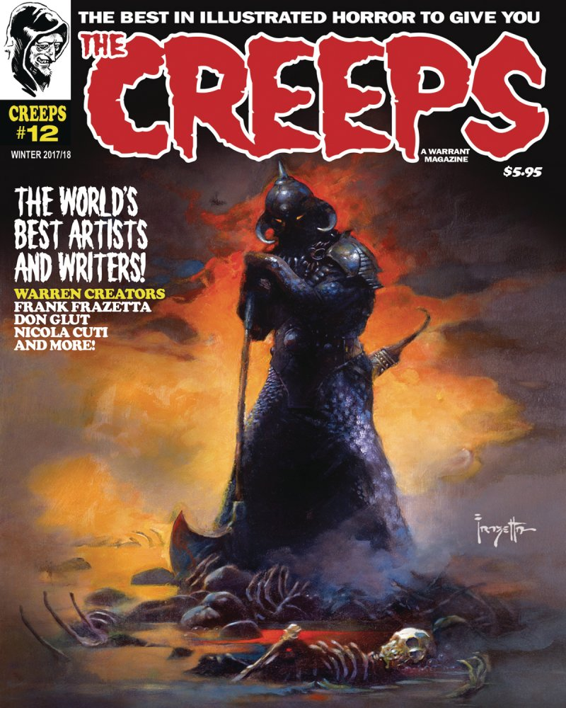 Thumbnail of The Creeps comic magazine #12 Winter 2017 - Warren Originals