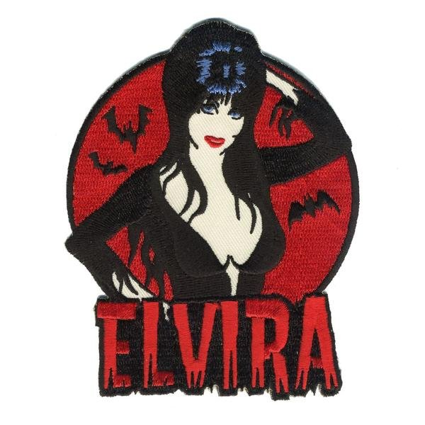 Elvira Embroidered Patch