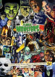 Thumbnail of Classic Monsters Scrapbook Horror Movie Trivia Guide - from the UK - JUST IN!