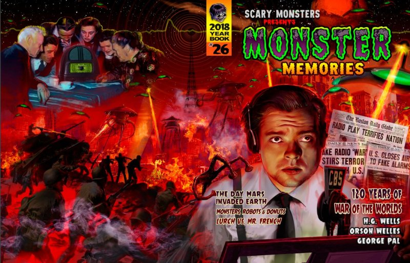 Thumbnail of Scary Monsters presents Monster Memories #26 2018 Annual - Latest Yearbook!