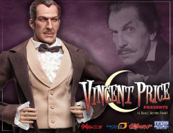 Thumbnail of Vincent Price LIMITED EDITION 1/6 Scale Collector's Figure - NEW SEALED!