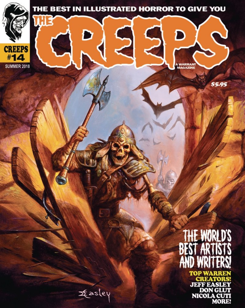 The Creeps #14 contents page
