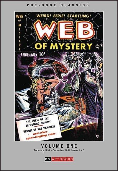 Web of Mystery Volume 1