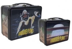 Thumbnail of Forbidden Planet Tin Tote Lunchbox Vintage Retro-Style All Metal - JUST IN!