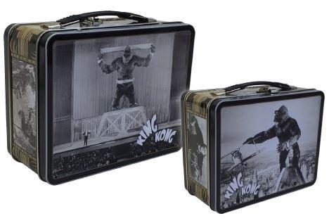 King Kong tin tote lunchbox
