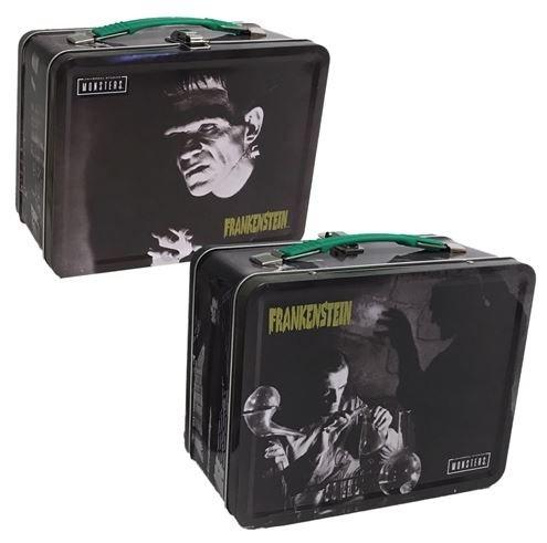 Frankenstein tin tote lunchbox