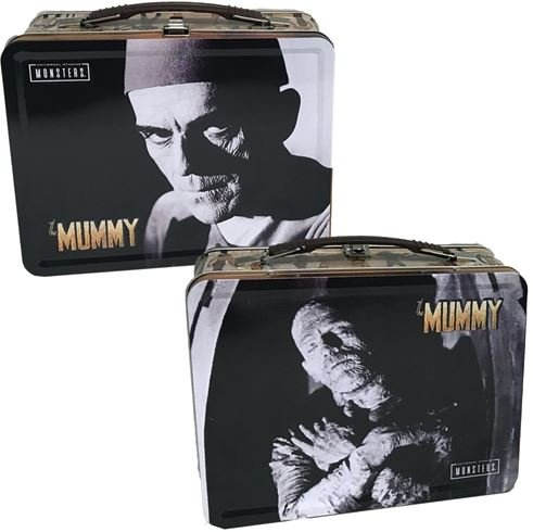 The Mummy tin tote lunchbox