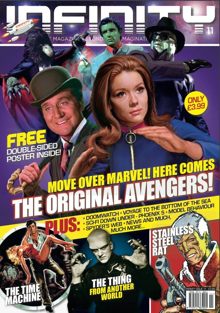Thumbnail of INFINITY #11 - The Original Avengers! - from the UK - LATEST ISSUE!