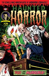 Thumbnail of Haunted Horror #34 Chilling Archives of Horror Comics! - LATEST ISSUE!